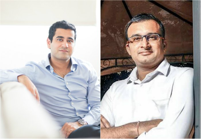 Gaurav Chopra (L) and Vinay Bagri (R), Founder & CEO ofIndiaLends and theCo-founder & CEO ofNiYO respectively