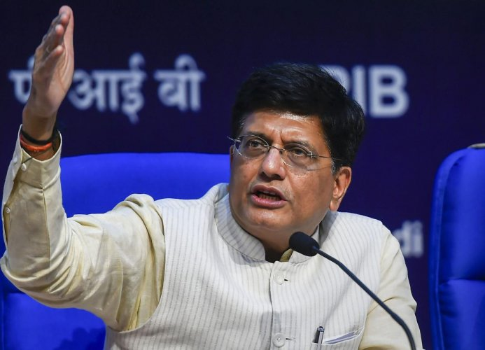 File photo of Minister of Railways and Commerce Piyush Goyal. Photo credit: PTI