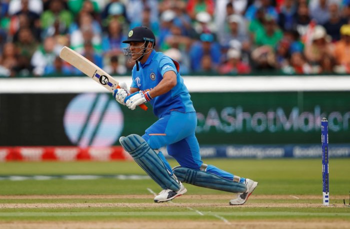 IN A SPOT: Under fire for his slow batting, MS Dhoni will be keen to prove his critics wrong when India take on Sri Lanka on Saturday. REUTERS