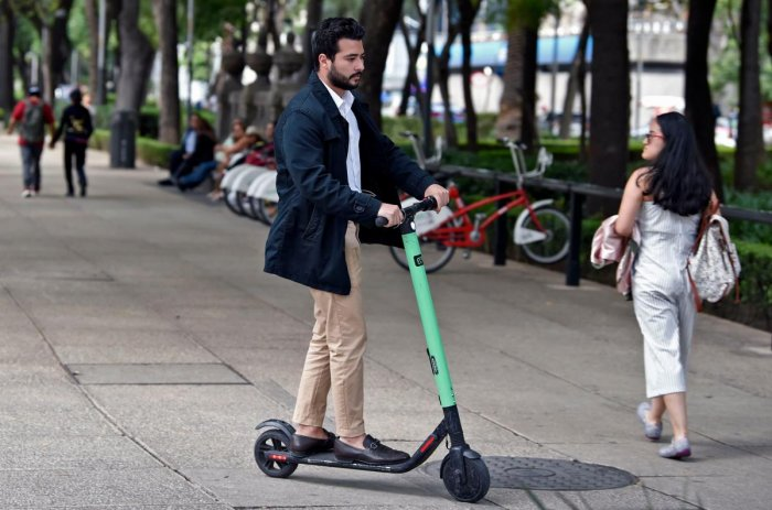 They appeared in June last year as Paris was waking up from its annual all-night Festival of Music: hundreds of green-and-black electric scooters dotting the pavements of the capital. AFP