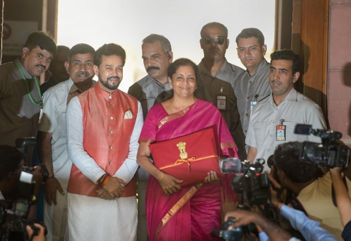 Sitharaman, 59, presented the Modi 2.0 government's maiden budget in the Lok Sabha. (PTI Photo)