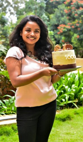 Jeyadra Viyaselvan recommends using cocoa powder instead of readymade chocolate bars to make treats.