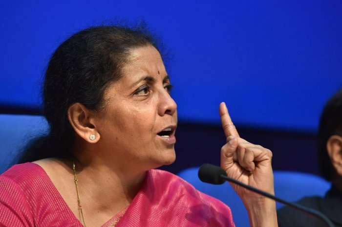 Finance Minister Nirmala Sitharaman (PTI File Photo)
