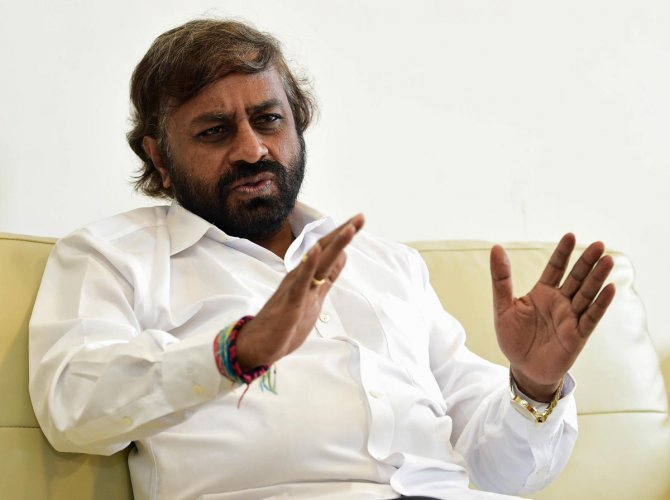 """""""That's one among the many options before us, but the high command will take the final call,"""" Karnataka Pradesh Congress Committee (KPCC) working president Eshwar Khandre told reporters."""