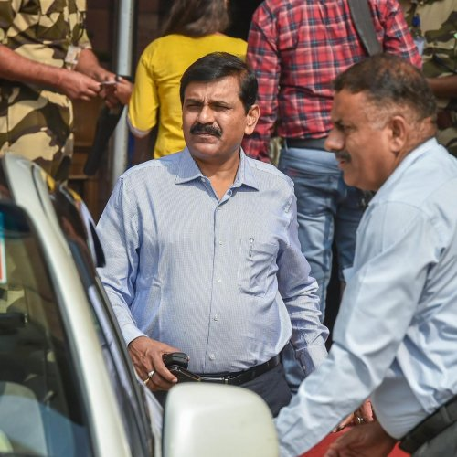 "An official order said that Rao, a 1986-batch IPS officer from Odisha cadre, has been appointed Director General of Fire Services, Civil Defence and Home Guard by ""temporarily downgrading the post"" to the level of additional director general. (PTI File Ph"