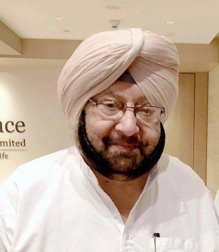 Punjab Chief Minister Capt Amarinder Singh (PTI Photo)
