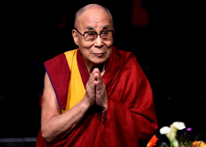 The Dalai Lama turned 84 on Saturday and called for creating a compassionate society and religious harmony.
