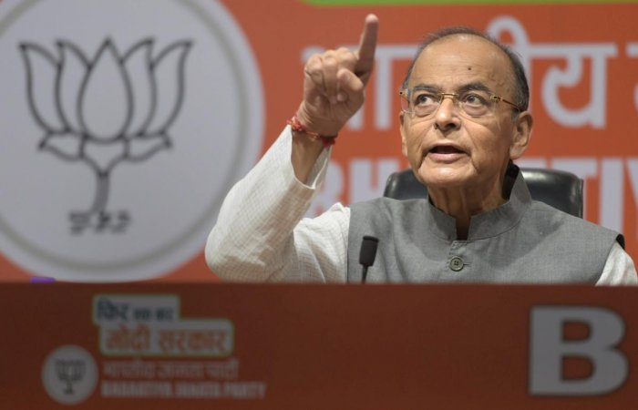 In a Facebook post a day after the Budget presentation, Jaitley said a fundamental question has always been asked as to what would one choose between good economics and clever politics. (PTI File Photo)