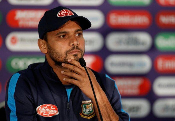 Bangladesh captain Mashrafe Mortaza. (Reuters File Photo)
