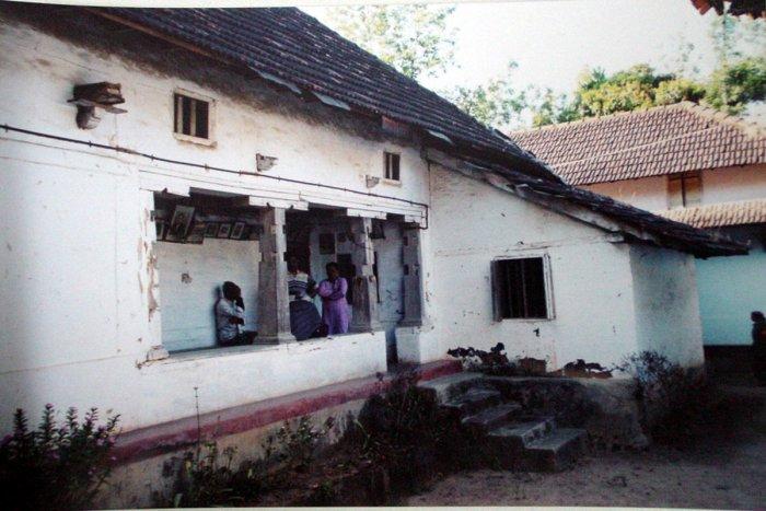 Ancient abode: The ancestral house of Mukkatira Ipanna, the sharpshooter, in Nalvathoklu village in Kodagu. Photo by Boverianda Chinnappa