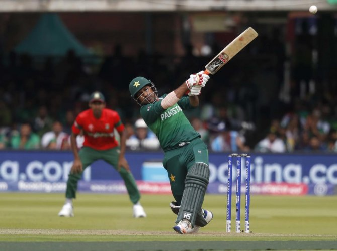 The horrendous batting show against the West Indies, when they were all out for just 105, cost Pakistan dear in the World Cup. (PTI Photo)