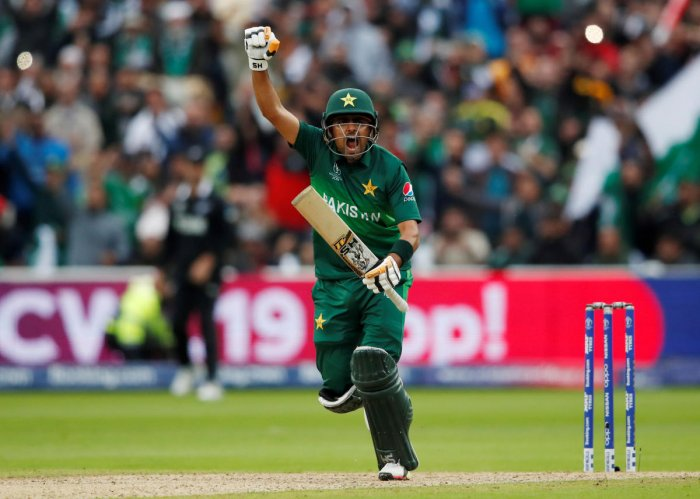 Babar Azam has showed his class in this World Cup. Photo credit: Reuters
