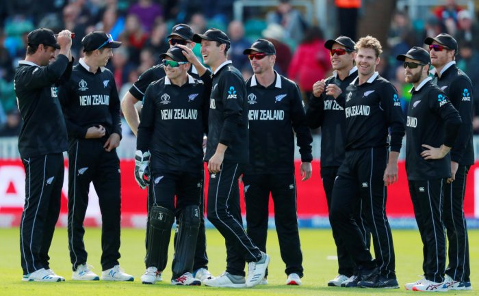The match against India is going to be New Zealand's first big test in this World Cup. Photo credit: Reuters