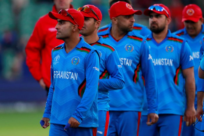 Afghanistan have lost all their three matches so far. Photo credit: Reuters