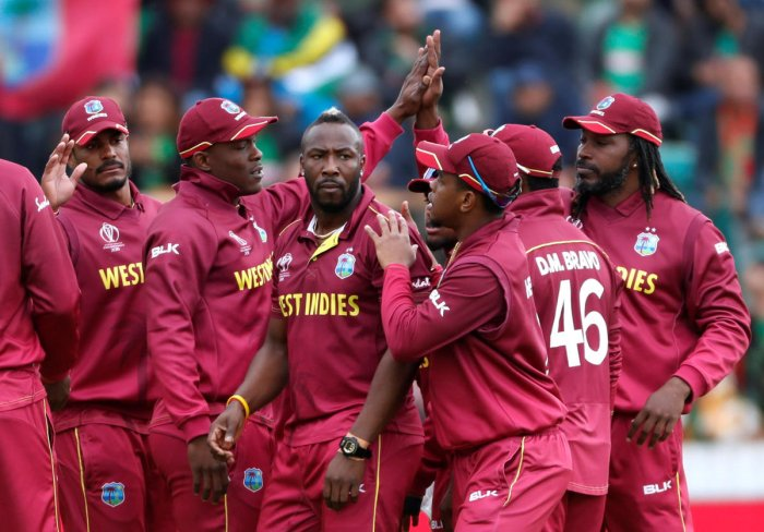 Andre Russell's injury has dealt West Indies a severe blow. Photo credit: Reuters