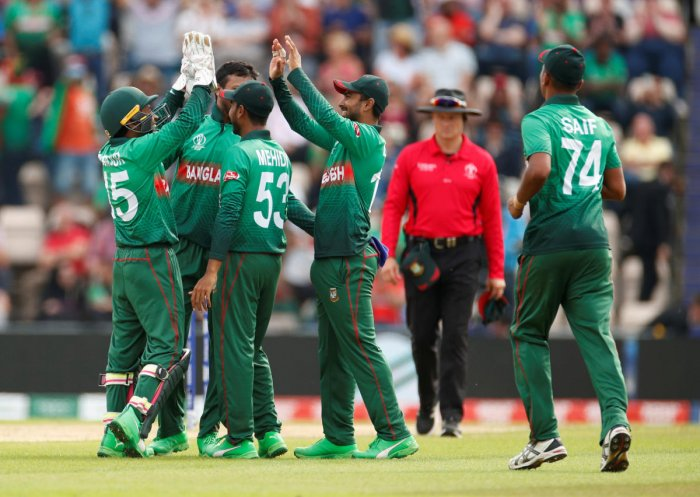 This World Cup has witnessed Bangladesh's emergence as a major force. Photo credit: Reuters