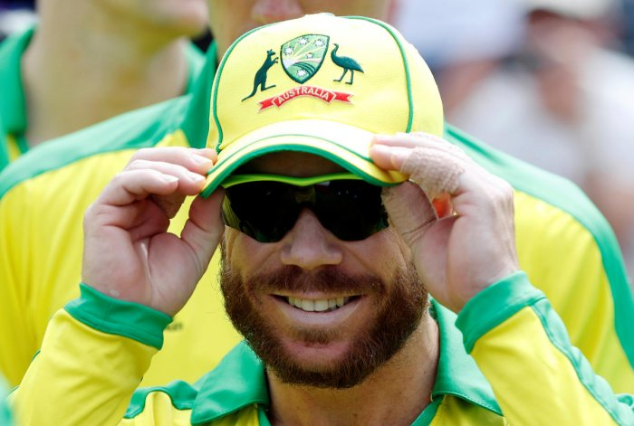 David Warner produced a magnificent performance with the bat on his return to the Australian side. Photo credit: Reuters