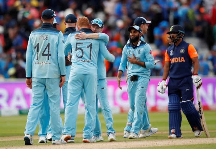 England will take heart from their win against India. Photo credit: Reuters