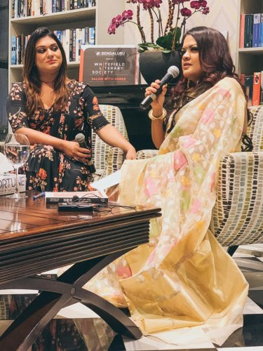 Apsara Reddy and Sreemoyee Piu Kundu addressed a host of topics in their chat.
