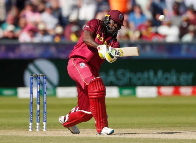 This is will be Chris Gayle's last World Cup match. Photo credit: Reuters