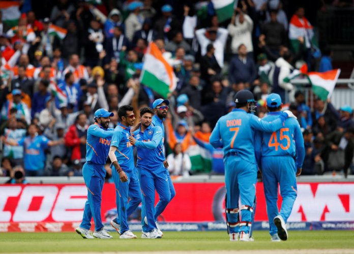India will look to maintain their winning momentum against West Indies. Photo credit: Reuters