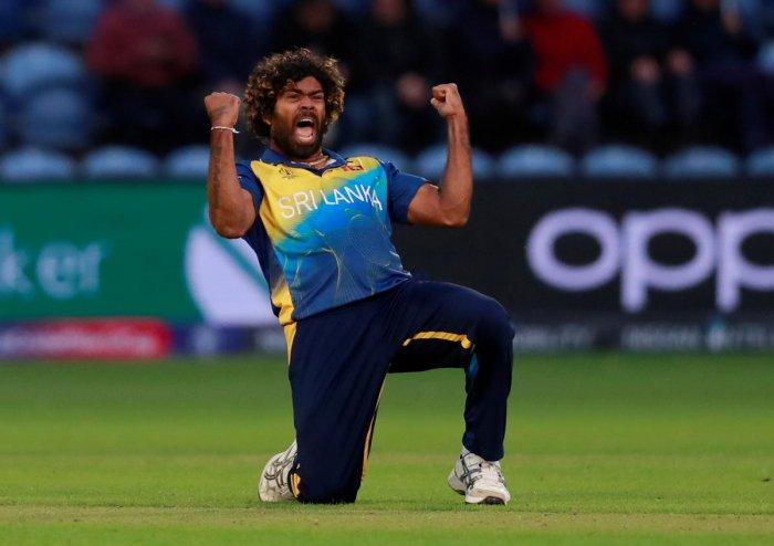 Sri Lanka will bank on Lasith Malinga to make inroads against Australia. (Reuters Photo)