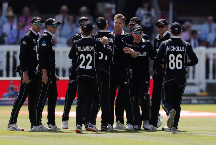 New Zealand have lost their last two matches and will look to end their group stage campaign on a high note. Photo credit: Reuters