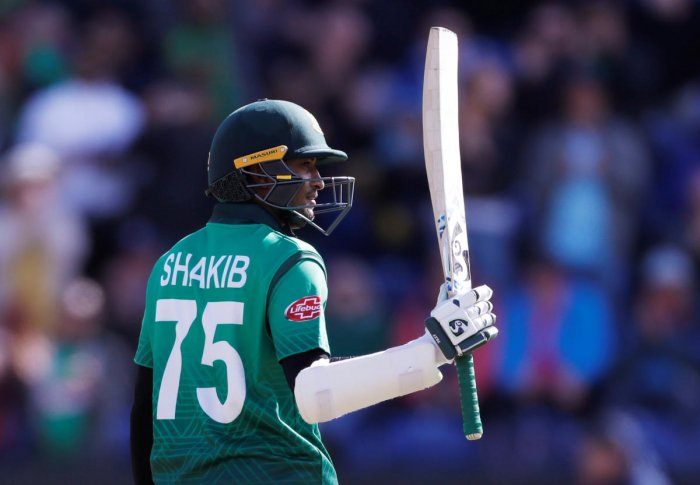 Shakib Al Hasan is in prolific form with the bat. Photo credit: Reuters