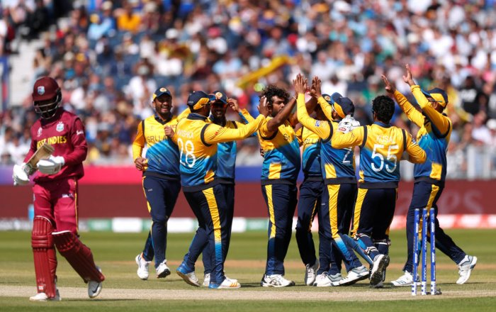 Sri Lanka would like to end their WC campaign on a high note. Photo credit: Reuters