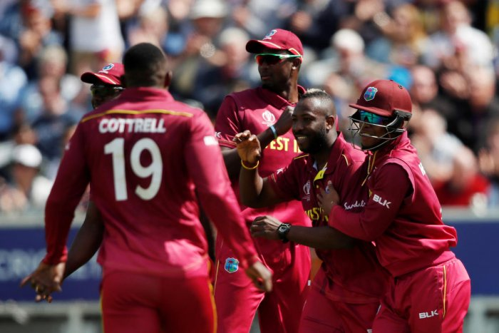 West Indies will look to bounce back from their defeat against Australia. Photo credit: Reuters