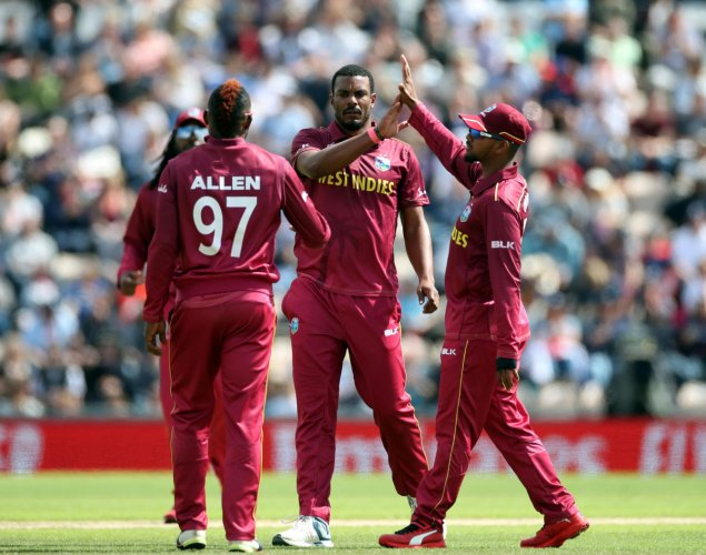 West Indies will be all but out of top four race if they lose against New Zealand. Photo credit: Reuters
