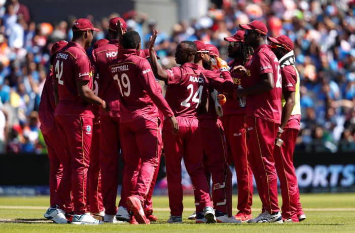 West Indies have won just one match so far in this World Cup. Photo credit: Reuters