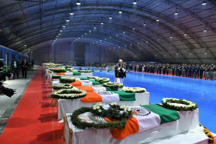 The Reliance Foundation has expressed its desire to shoulder the responsibility of educationof the children of martyred soldiers and livelihood of their families. Picture courtesy Twitter