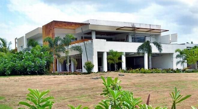Naidu's riverfront house