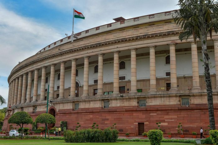 As soon as the Lok Sabha assembled for the day, the MPs of the Congress rose to protest alleged ploy by the ruling Bharatiya Janata Party to topple coalition Government in the State.