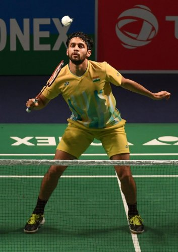Parupalli Kashyap's lost a three-game thriller to China's Li Shi Feng in the men's singles summit clash. (AFP File Photo)