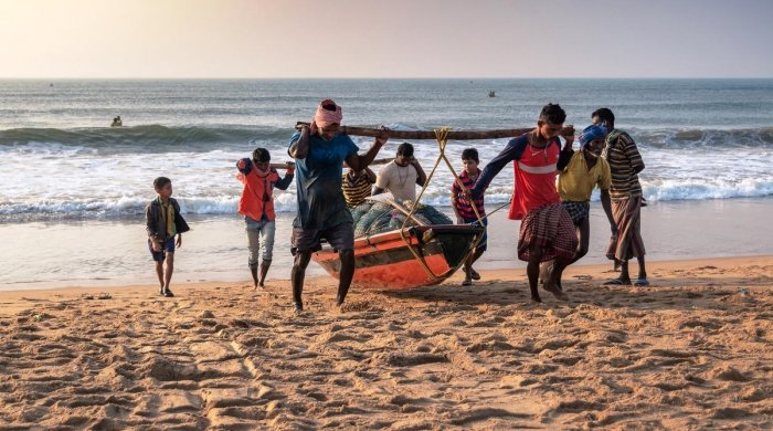 Six of the 31 fishermen, who had gone missing in the Bay of Bengal after venturing into deep waters despite weather warnings four days ago. (File Photo)