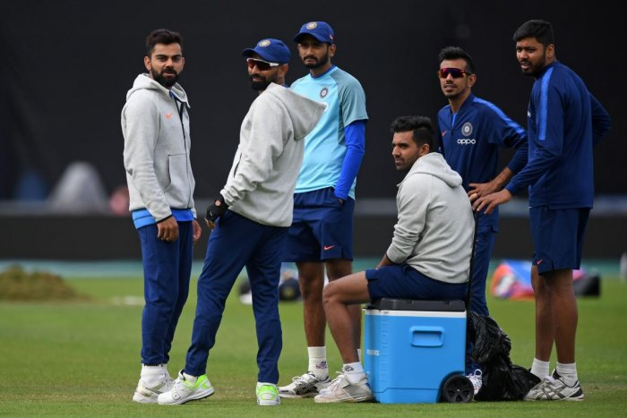 FROSTY RELATIONSHIP: The Indian team, which had a full-fledged training session in Southampton on Monday, lived up to their notorious reputation of not honouring the media. AFP