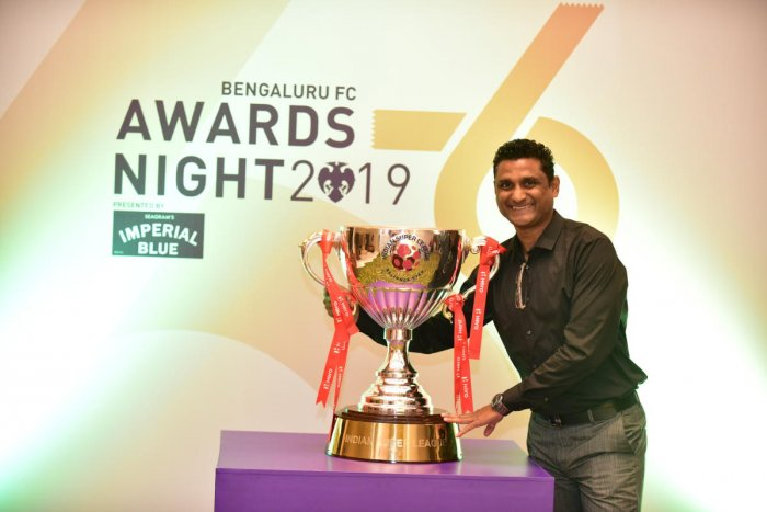 SHAPING TALENT Noushad Moosa has slipped into the role as a coach with ease, grooming the next generation of players at the Bengaluru FC.