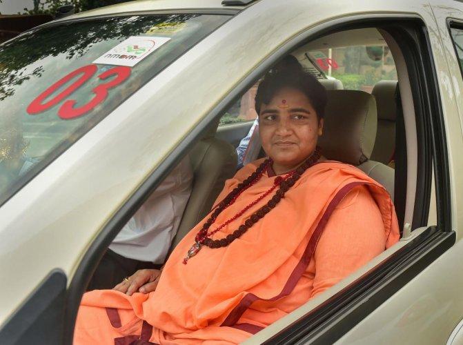 BJP MP Sadhvi Pragya Singh Thakur