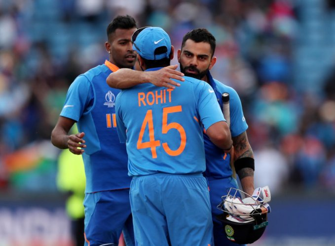 India have lost just one match in the group stage and will be brimming with confidence against New Zealand. Photo credit: Reuters