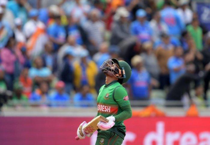 Mushfiqur Rahim. AFP photo