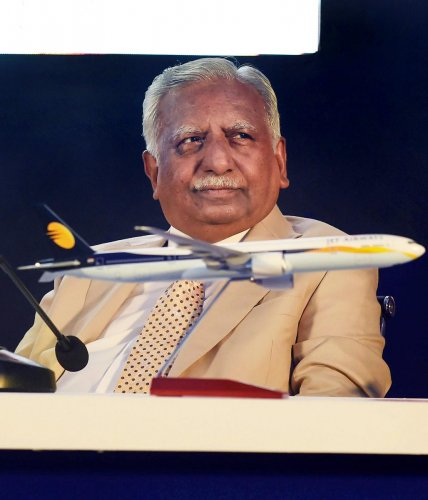 Delhi High Court refused to allow Jet Airways founder Naresh Goyal to go abroad and sought the response of the Centre on his plea challenging a lookout circular (LOC) issued against him. (PTI Photo)