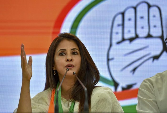 The infighting in the Mumbai Congress has taken a new turn with a letter of actress and party member Urmila Matondkar, making scathing comments against trusted aides of her senior colleague Sanjay Nirupam, surfacing Monday. (PTI Photo)