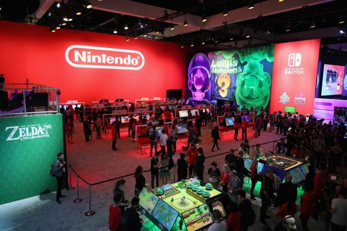 Japan's Nintendo Co Ltd plans to shift a part of the production of its Switch gaming consoles to Vietnam from China. (AFP File Photo)
