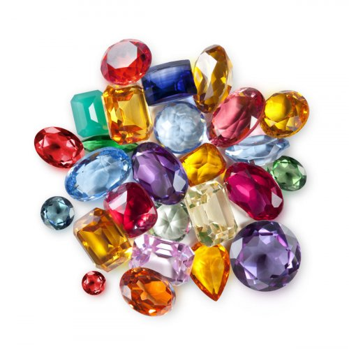 These days, it has become increasingly difficult to distinguish the original gem from a synthetic or an imitation.
