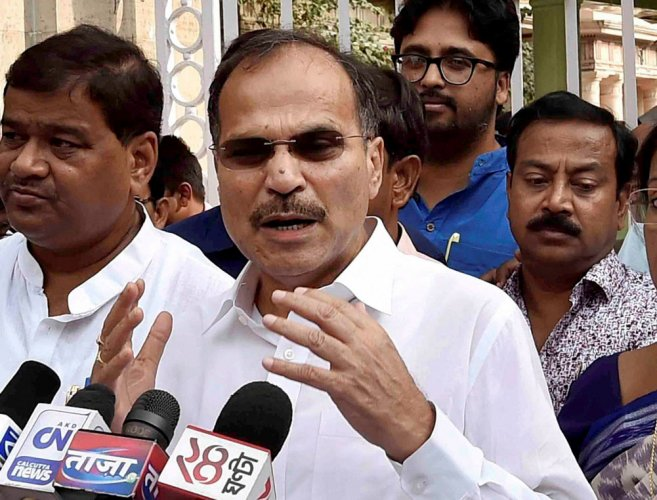 """Raising the issue in the Lok Sabha during Zero hour, Congress' Leader of the House Adhir Ranjan Chowdhury accused the BJP of resorting to """"horse trading"""" to bring the elected Congress legislators in its fold."""