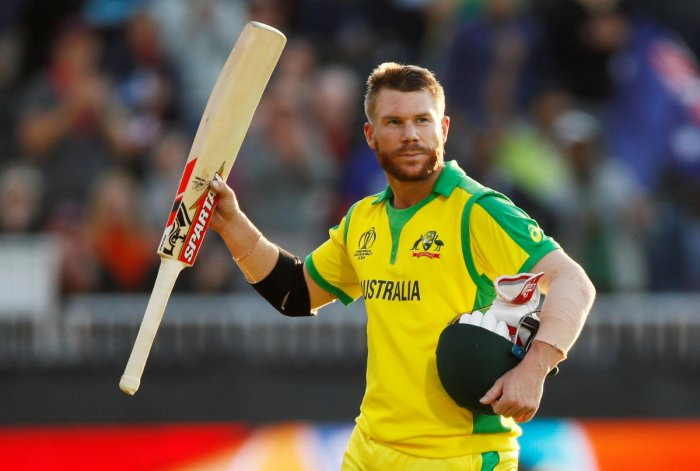 David Warner will look to maintain his sublime form in the semifinal as well. Photo credit: Reuters