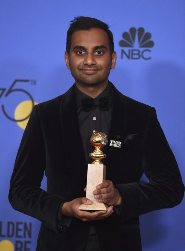 Actor-comedian Aziz Ansari (PTI Photo)