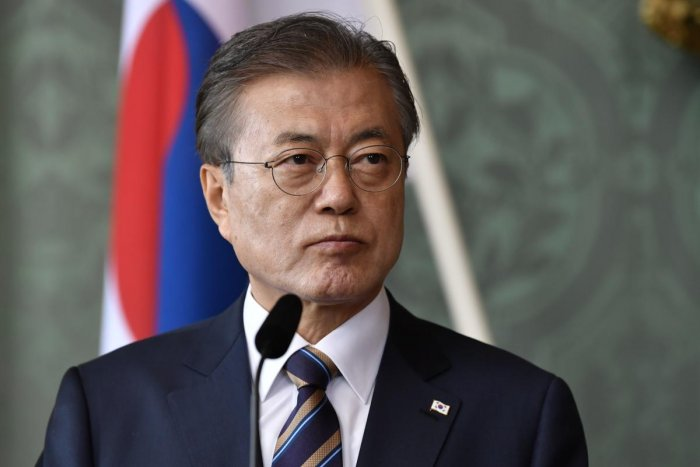 South Korean President Moon Jae-in (AFP File Photo)